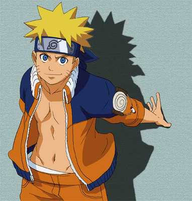 Naruto Shirtless (Kinda)